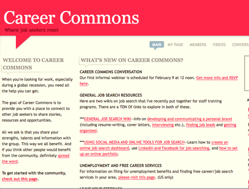 Career commons 2